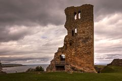 Scarborough Castle in North Yorkshire. royalty free stock photo