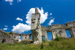 Medieval ruins of castle Royalty Free Stock Photography
