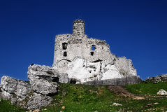 Medieval ruins of Mirow Castle, Poland Medieval ruins of Mirow Castle, Poland Stock Image