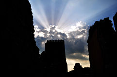 Medieval Ruins Stock Images