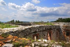 Medieval Ruins Stock Photography
