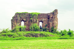 Medieval Ruins In Romania Stock Photography
