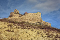Medieval Rupea fortress, Romania Stock Photos