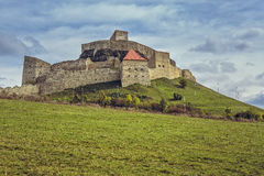Medieval Rupea fortress, Romania Royalty Free Stock Photo