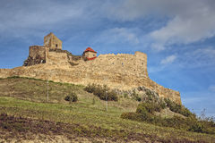 Medieval Rupea fortress, Romania Royalty Free Stock Image