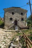 Medieval Saint Anthony church in town of Melnik, Bulgaria Royalty Free Stock Images