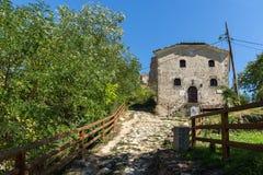 Medieval Saint Anthony church in town of Melnik, Bulgaria Stock Photos