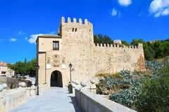 Medieval San Martin bridge - Toledo Stock Photos