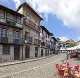 Medieval Santiago Square, Guimaraes, Portugal Royalty Free Stock Photos