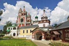 Medieval Savvino Storozhevsky monastery in Zvenigorod, Moscow region Royalty Free Stock Photo