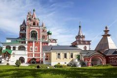 Medieval Savvino Storozhevsky monastery in Zvenigorod, Moscow region Royalty Free Stock Photos