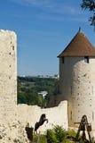 Medieval scene - Provins Stock Photo