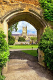 Medieval scenery of the city Bath, Somerset, England Royalty Free Stock Photography