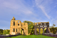 Medieval Scottish abbey Royalty Free Stock Images