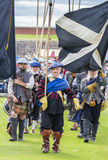 Medieval Scottish army Royalty Free Stock Images