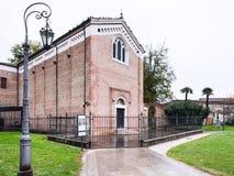 Medieval Scrovegni Chapel in Padua city Royalty Free Stock Photos