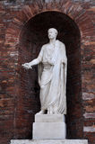 Medieval Sculpture in Rome Stock Images