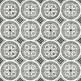Medieval seamless  ornament Royalty Free Stock Photo