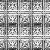 Medieval seamless  ornament Stock Image
