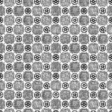 Medieval seamless pattern Royalty Free Stock Photo