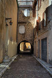 Street of Antibes, France. Stock Photos