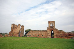 Medieval Serbian ruins Stock Image