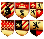 Medieval set Royalty Free Stock Images