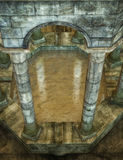 Medieval sewer scene Stock Photography