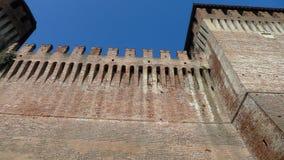 Medieval Sforzesco Castle Stock Image