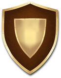 Medieval shield Royalty Free Stock Photos