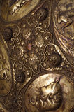 Medieval shield detail ornament Stock Photography