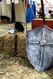 Medieval shield Royalty Free Stock Photography