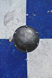 Medieval shield texture Royalty Free Stock Image