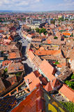Medieval Sibiu town in Romania Stock Photos