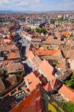 Medieval Sibiu town in Romania Stock Photos