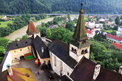 Medieval Slovakia Orava Castle Royalty Free Stock Photography