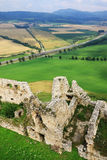 Medieval Slovakia Spis Castle Royalty Free Stock Photos