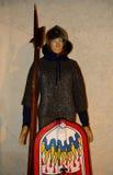 Medieval soldier, Filekovo, Slovakia Royalty Free Stock Photo