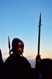 Medieval soldier Royalty Free Stock Image