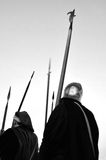 Medieval soldier Stock Photography