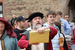 Medieval spectacle in Kuelsheim Royalty Free Stock Photography