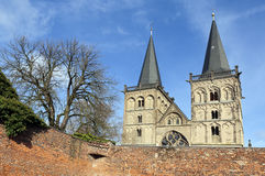Medieval St. Victordom, cathedral in Xanten Royalty Free Stock Photography