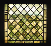 Medieval Stained Glass Window Stock Photos