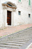 Medieval Stairs in Perugia Royalty Free Stock Image