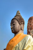 Medieval Statue of Buddha Stock Photo