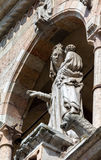 Medieval statue of the Madonna, , Cremona, Italy Royalty Free Stock Photography