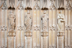 Medieval statues Stock Photo