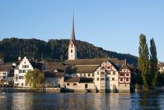 Medieval Stein am Rhein, Switzerland Royalty Free Stock Photos
