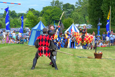 Medieval stick fighting Royalty Free Stock Image