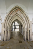 Medieval stone archway Stock Images